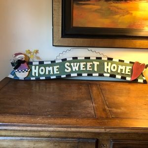 "🎄""Home Sweet Home"" wooden sign🎄"